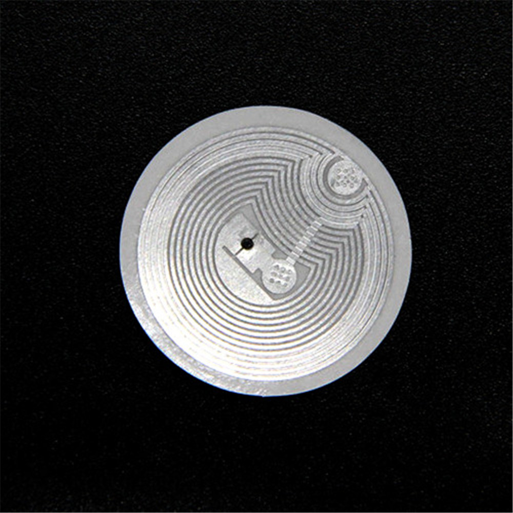 1pcs 13.56MHZ 1K NFC Sticker ISO14443A IC S50 IC Tag Adhesive Tag/Label/Sticker Support SONY/HTC/Samsung/LG Etc