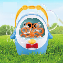 New Bubble Machine Cute Penguin Automatic Bubble Machine Soa