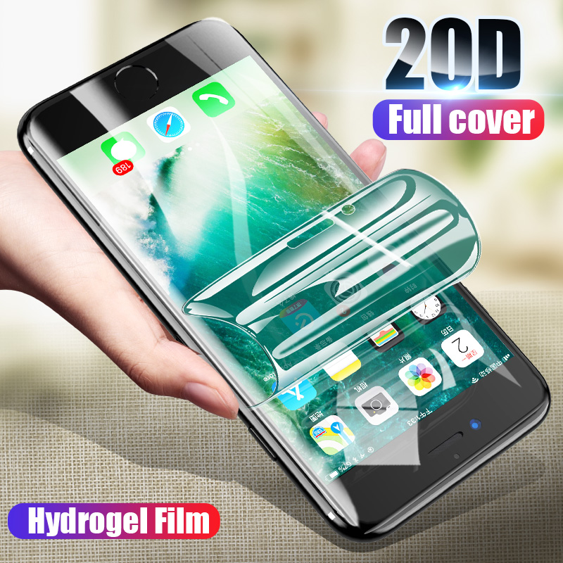 ZNP 3PCS Full Cover Hydrogel Film For IPhone 6 6s 7 8 Plus X XR 11 Screen Protector For IPhone X XR XS 11 Pro Max 6 7 Soft Film