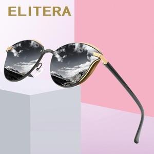 Shades Eyeglasses Driving Classic Female Polarized Women's Vintage ELITERA