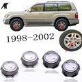 Серебряный или Гальванизированный колпачок ступицы колеса для 42603-60410 1998-2002 LX470 16