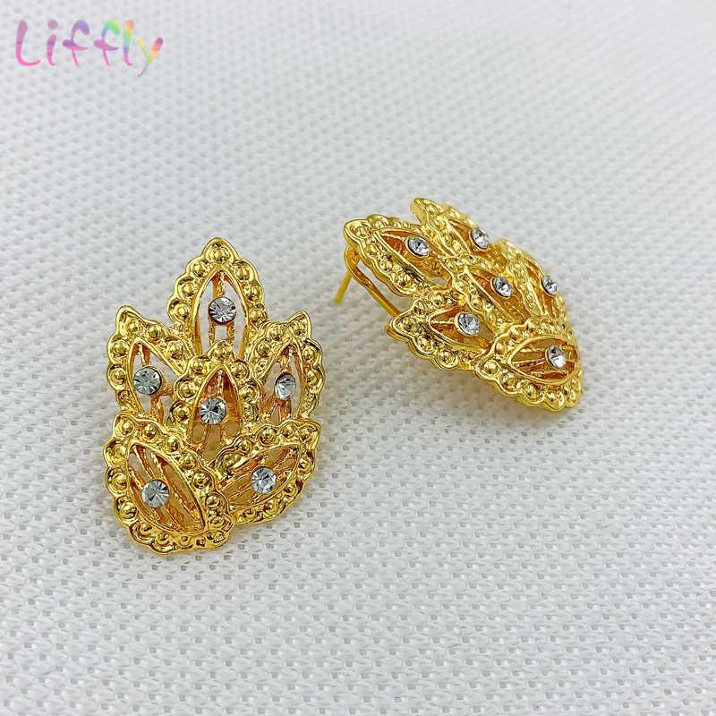 Joyería Árabe, collar geométrico fino, pendientes, anillo de pulsera, joyería Africana egipcia, conjuntos de collar de joyería para mujer