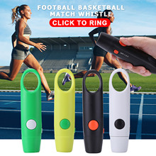 Practical Electronic Electric Whistle Referee Tones Outdoor Survival Football Basketball Game Cheerleading Whistle