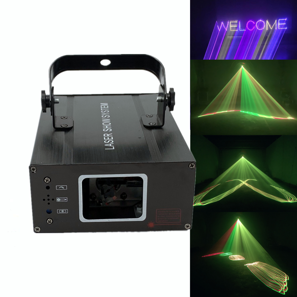 3D Laser Light R&B Colorful DMX 512 Scanner Projector Party Xmas DJ Disco Show Lights Club Music Equipment Beam Moving Ray Stage