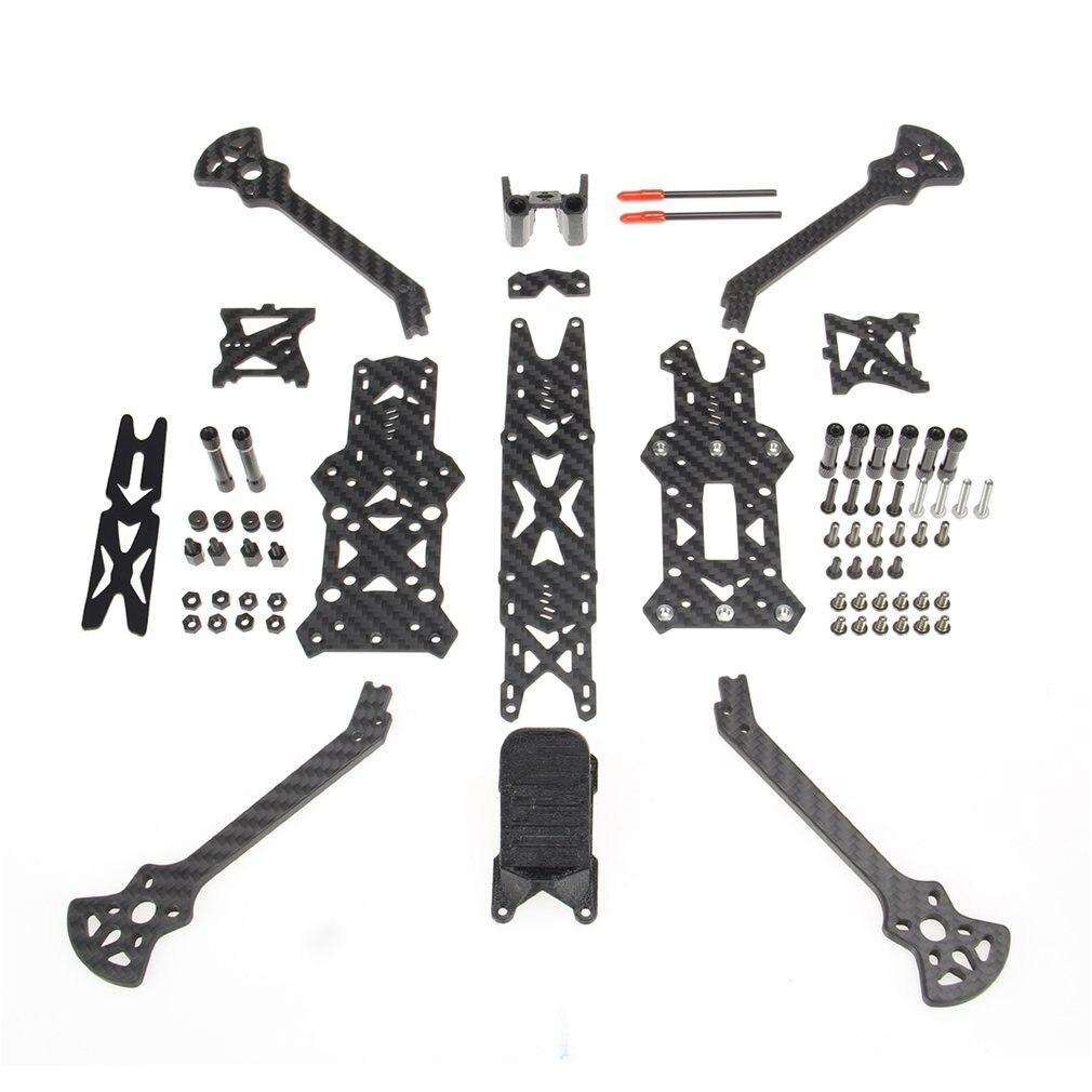 Kit de cadre en Fiber de carbone Portable 3K pour Drone RC FPV Racing