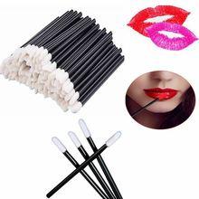 1000 sztuk/zestaw jednorazowe pędzle do ust miękki pędzel do makijażu do szminki Lip różdżka aplikator do połysku makijaż przyrząd kosmetyczny Drop Shipping