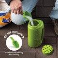 Gemüse Blume Samen Shaker Schnee Eis Sprayer Flasche Handheld Einstellbar Loch Dünger Flasche für Gartenarbeit Gadget
