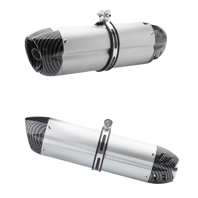 470mm Motorcycle Exhaust Pipe Escape Universal Modified Scooter Muffler DB Killer Silencer For Z250 MT-03 ATV Dirt Bike - motorcycles-accessories, pipe