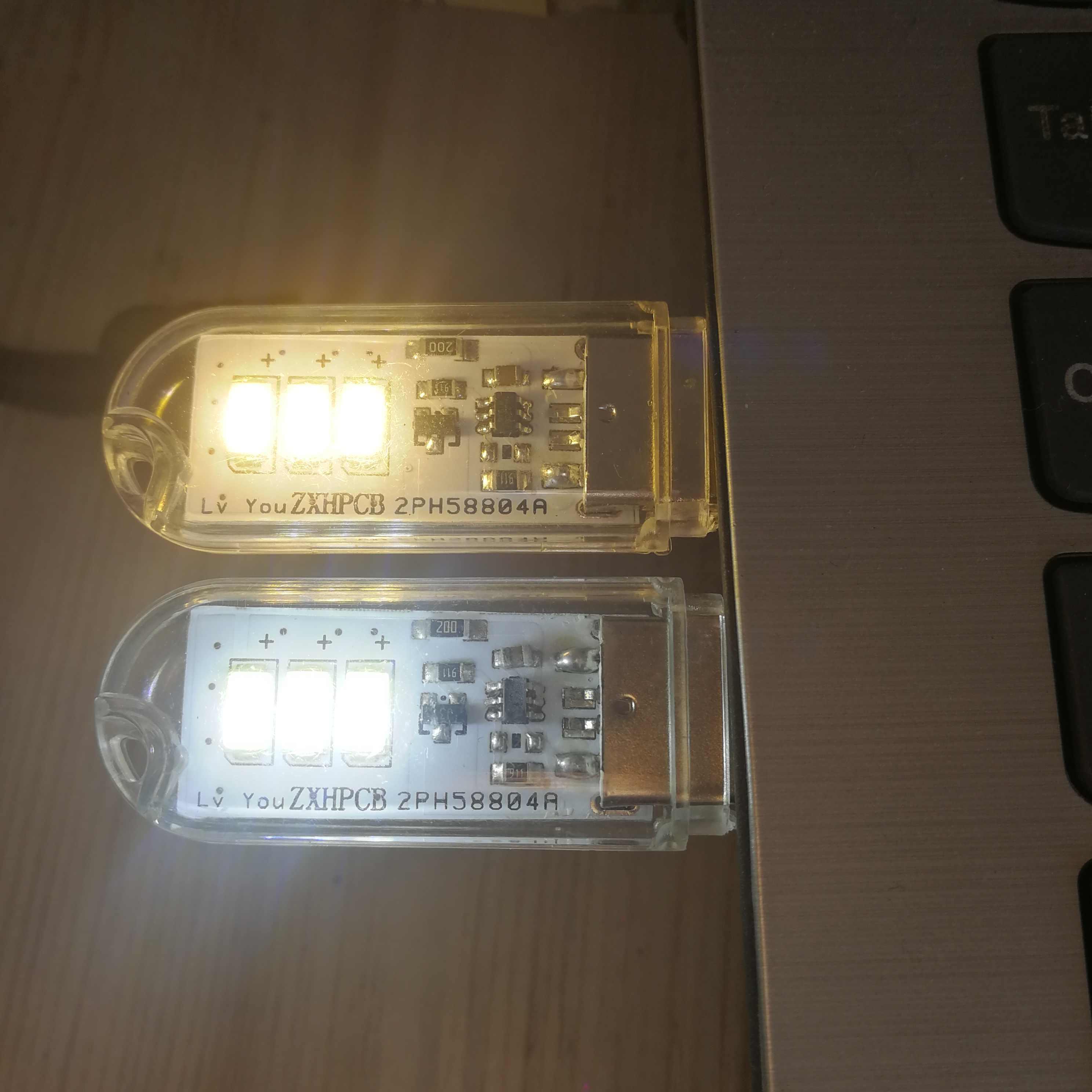 Lampy LED do książki USB 3 8 12 24 diody LED SMD 5630 5730 żarówka LED 5V wejście zasilania biały 5000-6500K ciepły biały 3000-3500K lampka nocna USB