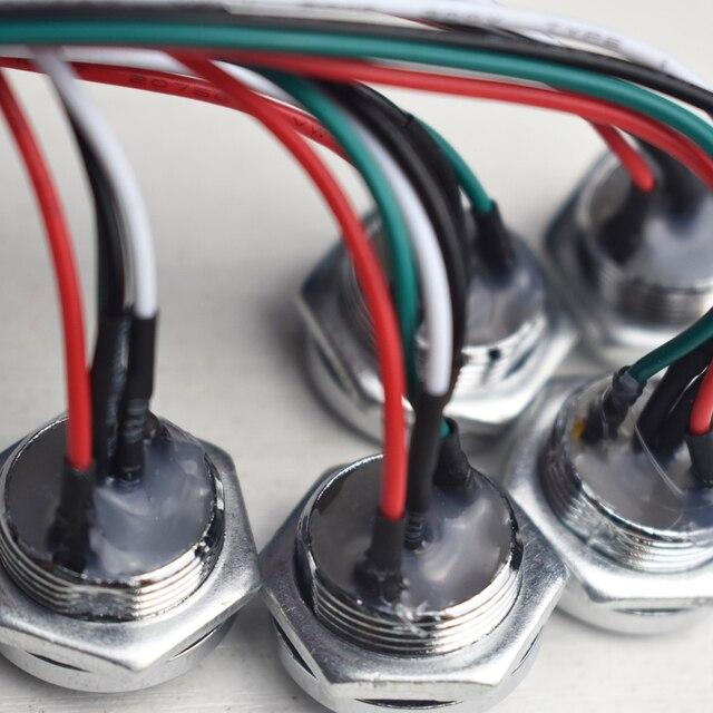 1ชิ้น/ล็อตDs 1990a Ibutton TM Card Probe Reader IB 9092พร้อมLED LightสำหรับDS1990 DS1991 DS1996 DS1961การ์ด