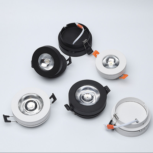 Image 5 - Rotate 360° Folding Recessed Round COB LED Downlights 7W/12W LED Ceiling Spot lights Background Painting Lamps Indoor Lig