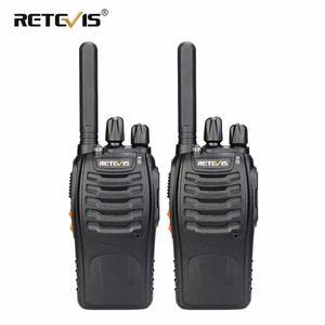 Image 1 - Retevis H777 Plus PMR 446 Walkie Talkies 2 pcs Handy Two Way Radio Professional Walkie talkie Radio Staion FRS Radio For Hunting