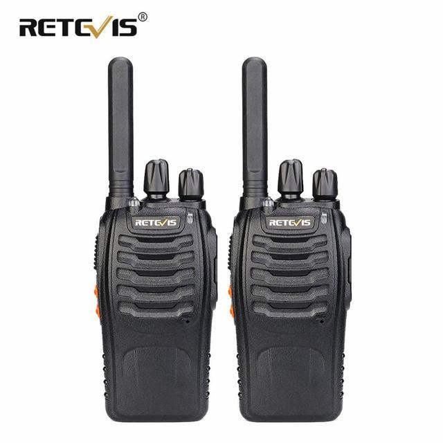 Retevis H777 Plus PMR 446 Walkie Talkies 2 pcs Handy Two Way Radio Professional Walkie talkie Radio Staion FRS Radio For Hunting