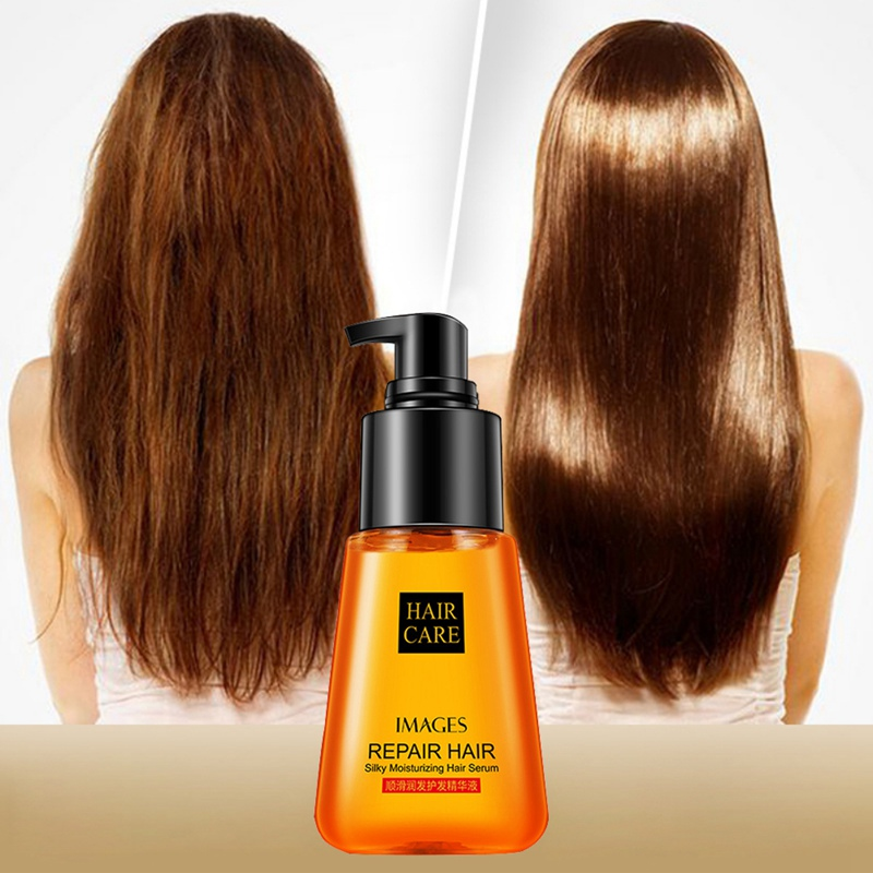 Moisturizing Repairing Essential Oil Silky Soften Hair Improves Hair Split Fork Hair Styling Hair Care Essence Oil image