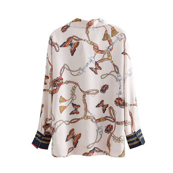 2019 Blouses Womens Tops and Blouses Women Blouses New Butterfly Printing Long Sleeve Loose Skinny Joker Blouse фото