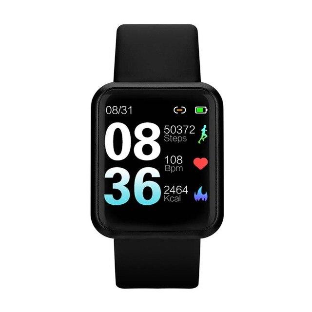 90% Offกันน้ำสมาร์ทนาฬิกาBluetooth SmartwatchสำหรับAppleนาฬิกาIPhone Android Heart Rate MonitorฟิตเนสTracker Man Woman