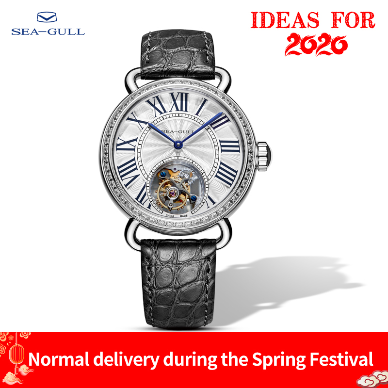 Seagull Watch Tourbillon Mechanical Watch Couple Watch Stainless Steel Watch Transparent Watch Skeleton Watches Luxury Brand