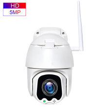 5MP PTZ IP Camera Speed Dome WiFi Wireless 4X Digital ZOOM Outdoor Security Surveillance Waterproof Networt CCTV Camera high speed mini 4 inch ptz 480tvl 1 3 sony ccd10x digital zoom 3 9 39mm cctv camera outdoor surveillance dome security
