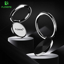 FLOVEME Mini Finger Ring Holder for Mobile Phone Ring Stand Luxury Desk Holders For iPhone XS Max Samsung Xiaomi Smartphone