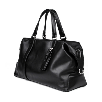 Genuine Leather Travel Bag European Style Design Cowhide Women Men Weekend Bag Handbag 6007A