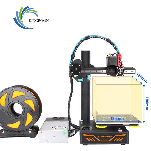 KINGROON KP3S 3D Printer High Precision Printing Upgraded DIY 3d printer Kit Touch Screen Pringting Size 180*180*180mm 3
