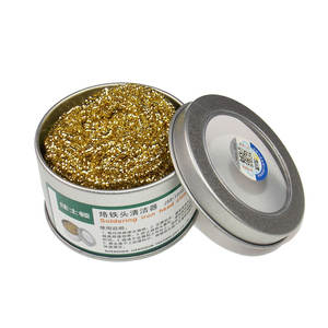 Cleaning-Maker Iron-Tip Addition Soldering JASDON Slag Tin Electric Clean-Ball/remover-Wire-Sponge