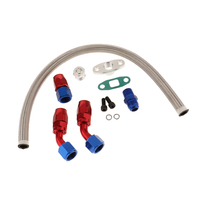 Auto Car Turbo Feed And Return Lines Charger Oil Drain & Line