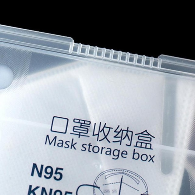 1pcs Box To Store Masks Antibacterial Cover For Masks To To Disposable Portable Store Storage N95 Masks Store Box Masks Cas T6R9 4