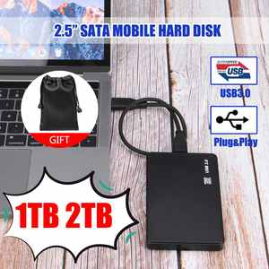 Hard-Disk Externo Disco Duro USB3.0 SATA3.0 2tb Hdd Mobile 1TB for Ps4/xb
