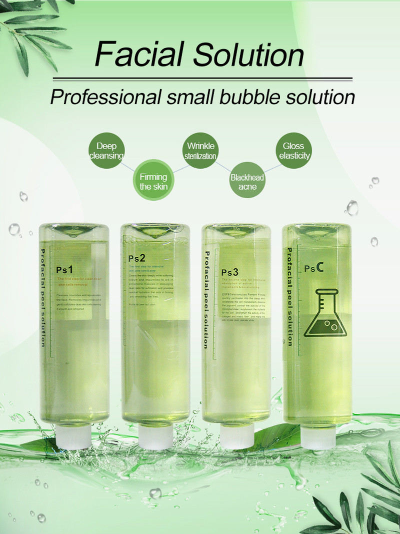 Hot Sale PS1 PS2 PS3 PSC 4 Aqua Peeling Solution 500Ml Aqua Facial Serum Hydra Dermabrasion Facial Cleansing For Normal Skin