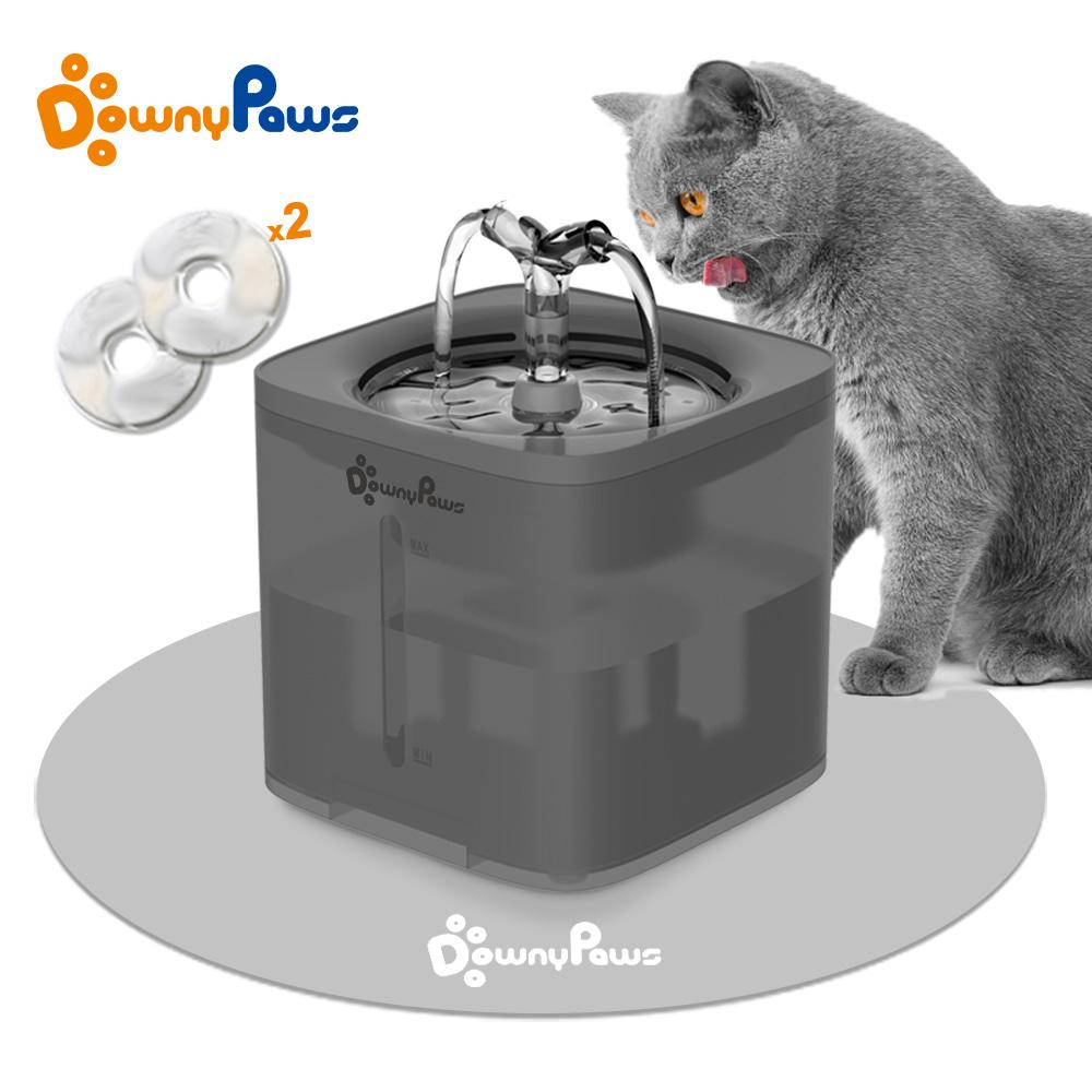 2L Automatic Pet Cat Water Fountain Filter Dispenser Feeder Smart Drinker For Cats Water Bowl Kitten Puppy Dog Drinking Supplies