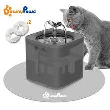 2L automatyczny kot domowy fontanna filtr dozownik podajnik inteligentny pijący dla kotów miseczka na wodę obroża dla kociaka pieska pies picie dostaw