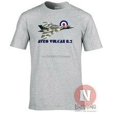 Real força aérea avro vulcan b.2 camisetas delta asa bombardeiro aeronave estilo de verão moda masculina o-pescoço t camisa ideias