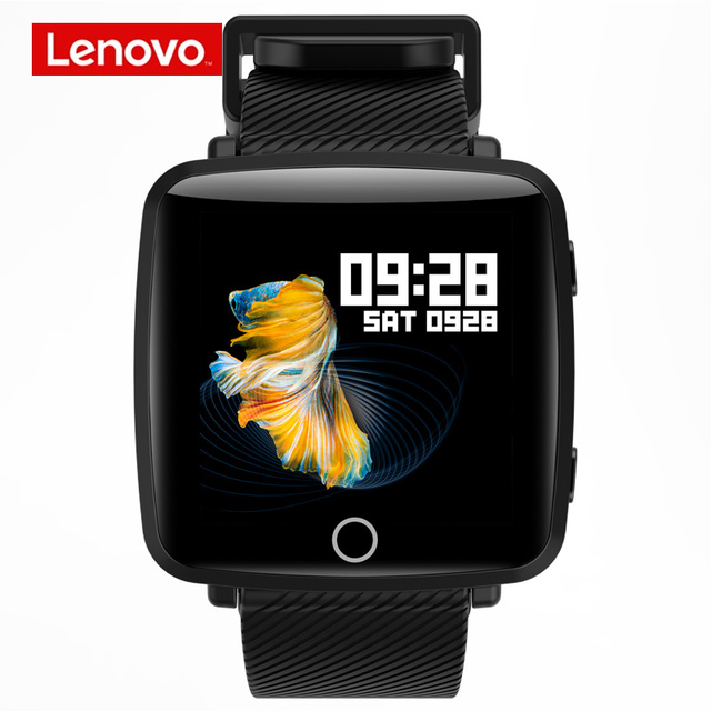 لينوفو HW25P Smartwatch معصمه 1.3 بوصة 2.5D شاشة IPS الملونة عرض بلوتوث الرياضة رصد معدل ضربات القلب IP68 ساعة ذكية