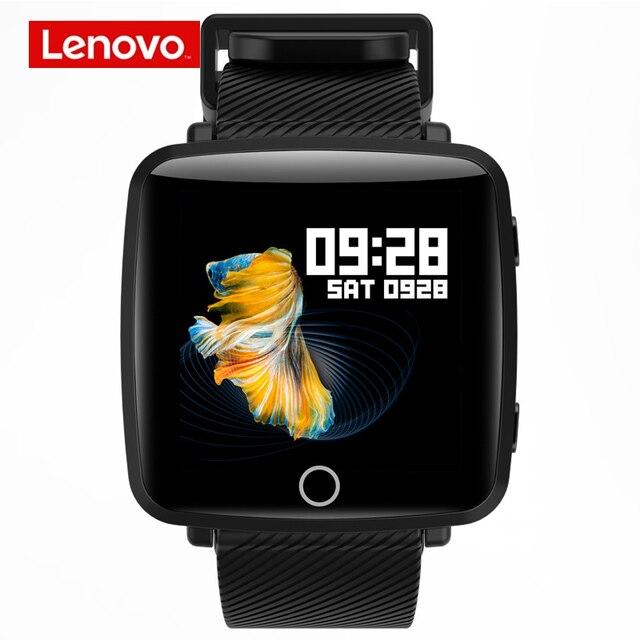 Lenovo HW25P Smartwatch צמיד 1.3 אינץ 2.5D מסך IPS צבעוני תצוגת Bluetooth ספורט קצב לב צג IP68 חכם שעון