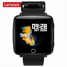 Reloj inteligente Lenovo HW25P, pulsera inteligente con pantalla IPS de 1,3 pulgadas 2.5D, pantalla colorida, Bluetooth, Monitor de ritmo cardíaco de deporte, IP68