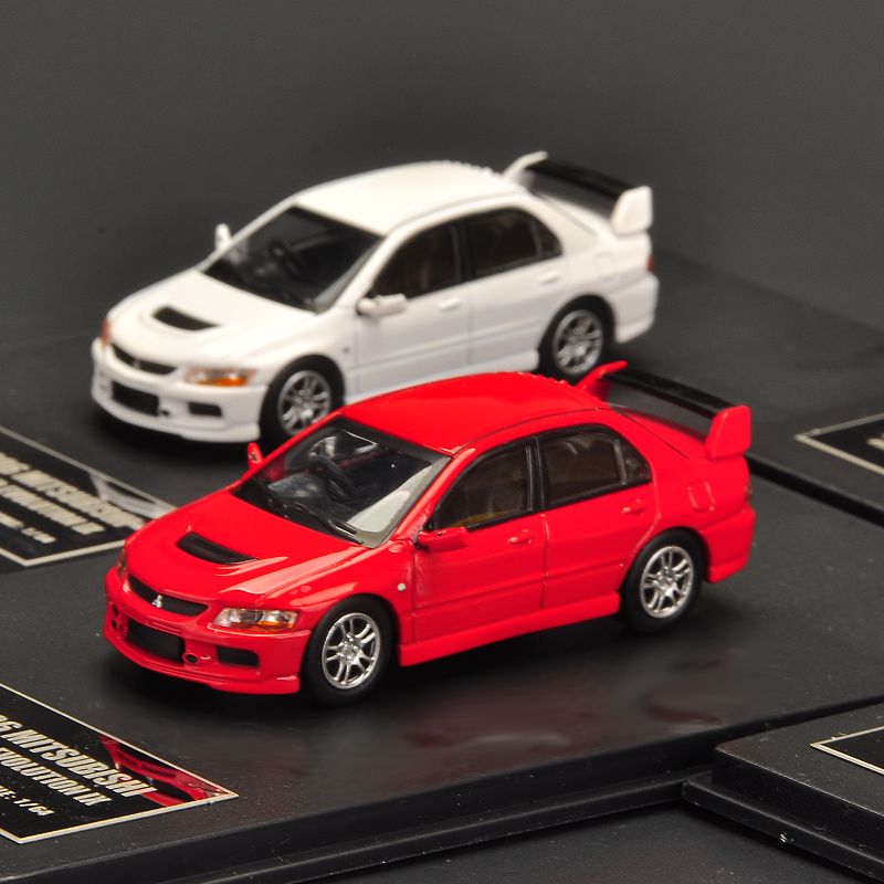 NEW 1:64 Lancer EVO IX 9 Generation New Alloy Model Car Collection Model For Gift Toys