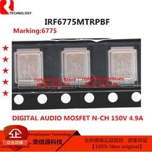 5-20 pcs IRF6775MTRPBF 6775 IRF6775 IR6775 IRF6775M N-CH DIGITAL AUDIO MOSFET 150V 4.9A 100% novo importado original qualidade 100%