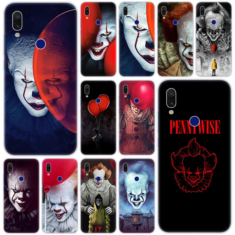 Hot Pennywise The Clown Horror Soft Silicone Case For Xiaomi Redmi K20 Pro 8 8A 7 7A 6 6A 5 Plus S2 Note 8 7 6 5 Pro 4 4X Cover