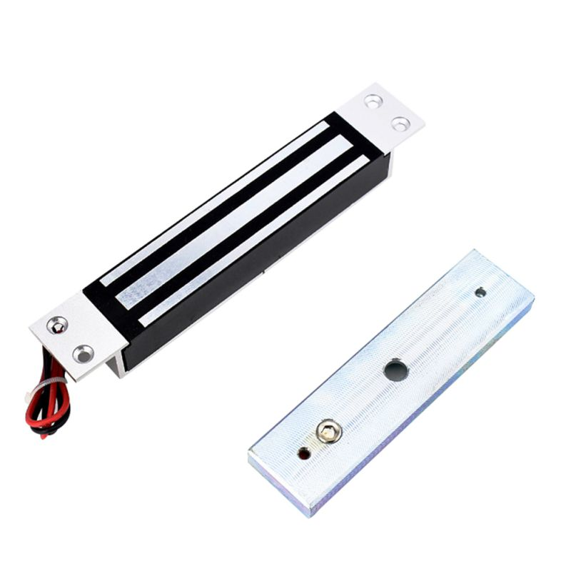 Hot Single Door 12V Electric Magnetic Electromagnetic Lock 180KG (350LB) Holding Force for Access Control