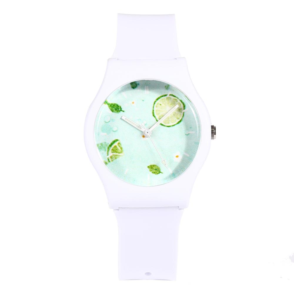 New Fashion CIOFA  Brand Unique Harajuku Luminous Waterproof Small Woman Children Lemon Jelly Sports Watch
