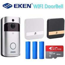 V5 חכם IP וידאו אינטרקום WI FI דלת טלפון דלת פעמון WIFI פעמון מצלמה עבור דירות IR מעורר אבטחה אלחוטית מצלמה
