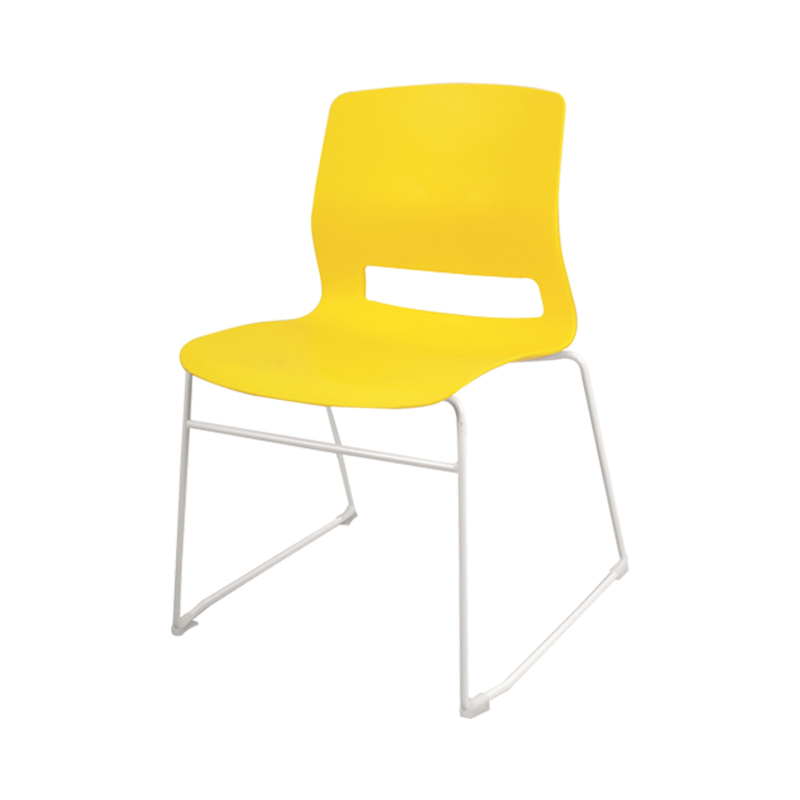 Dormitory Chair Home Student Bow Backrest Chair Simple Armless  Training Economy Office Meeting Chair