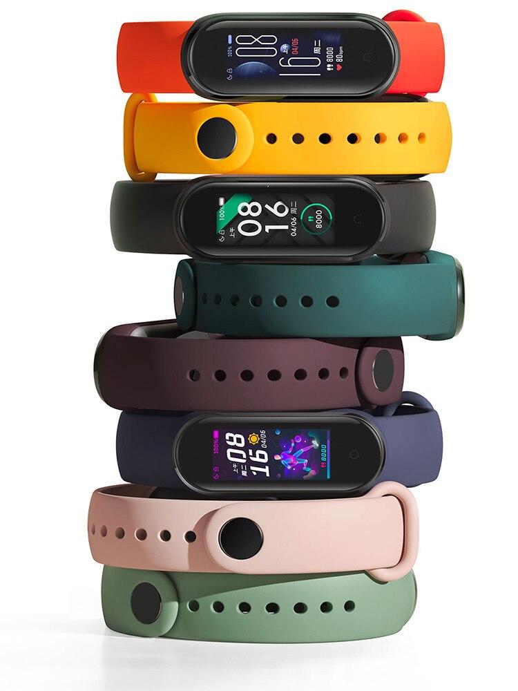 Xiaomi Fitness Bracelet Remind-Alarm Mi-Band Charge Swim-Sport-Monitor Step 24h-Heart-Rate