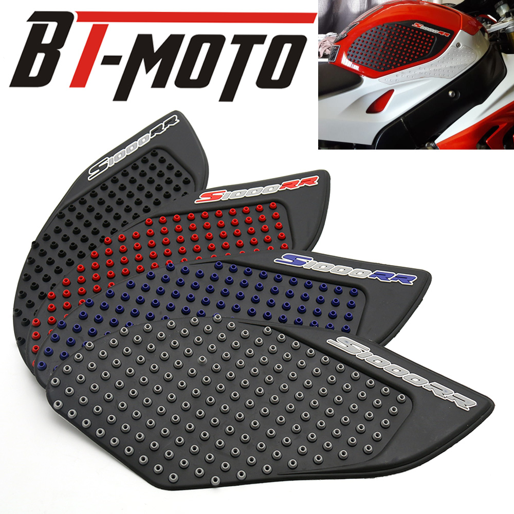 For BMW S1000RR 10-15 Side Tank Traction Gas Knee Grip Protector Anti Slip Pad