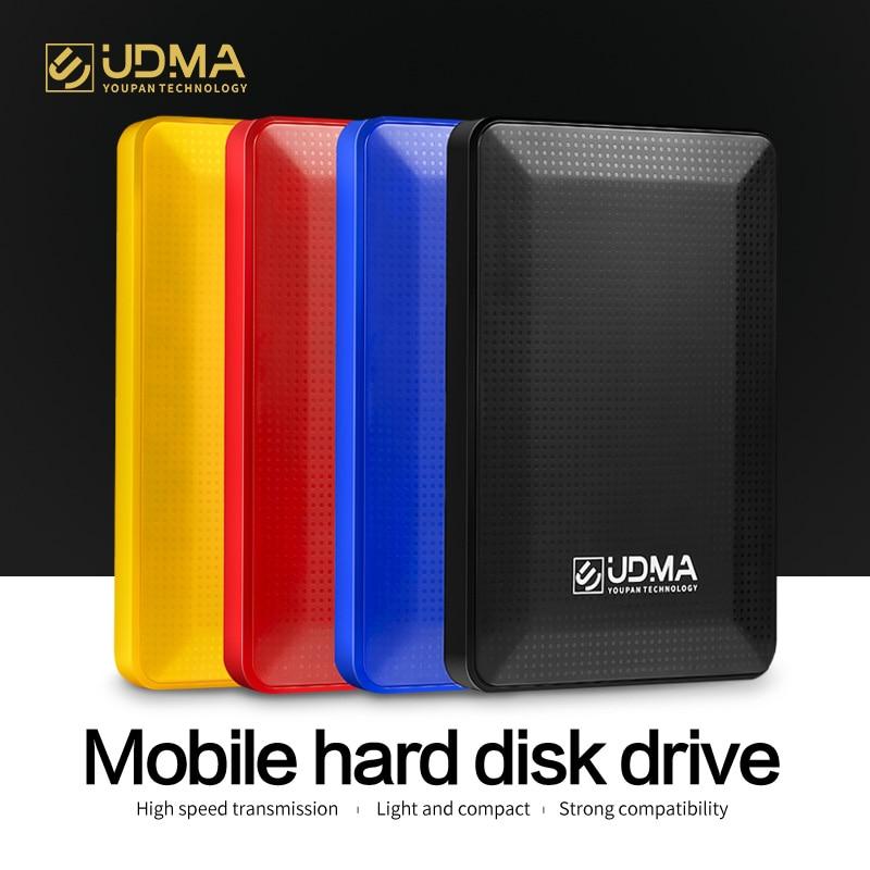 UDMA Portable External Hard Drive Disk USB3.0 HDD Storage for One, Xbox 360, PS4,PC, Mac, Desktop, Laptop,Xbox,KESU,2.5