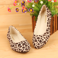 Classics Leopard Flat Shoes for Women Fashion Slip-on Plus Size Shoes Woman Casual Loafers Female Boat Shoes Ladies Ballet Flats women flat ballet flats high quality shoes slip on plus size woman shoes fashion pointed toe luxury brand design ladies loafers