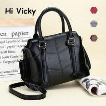 New 2019 Fashion Brand Composite Split Leather Handbag 3 sets Women Vintage Tote Shoulder Messenger Bag Black bolsa feminina цены