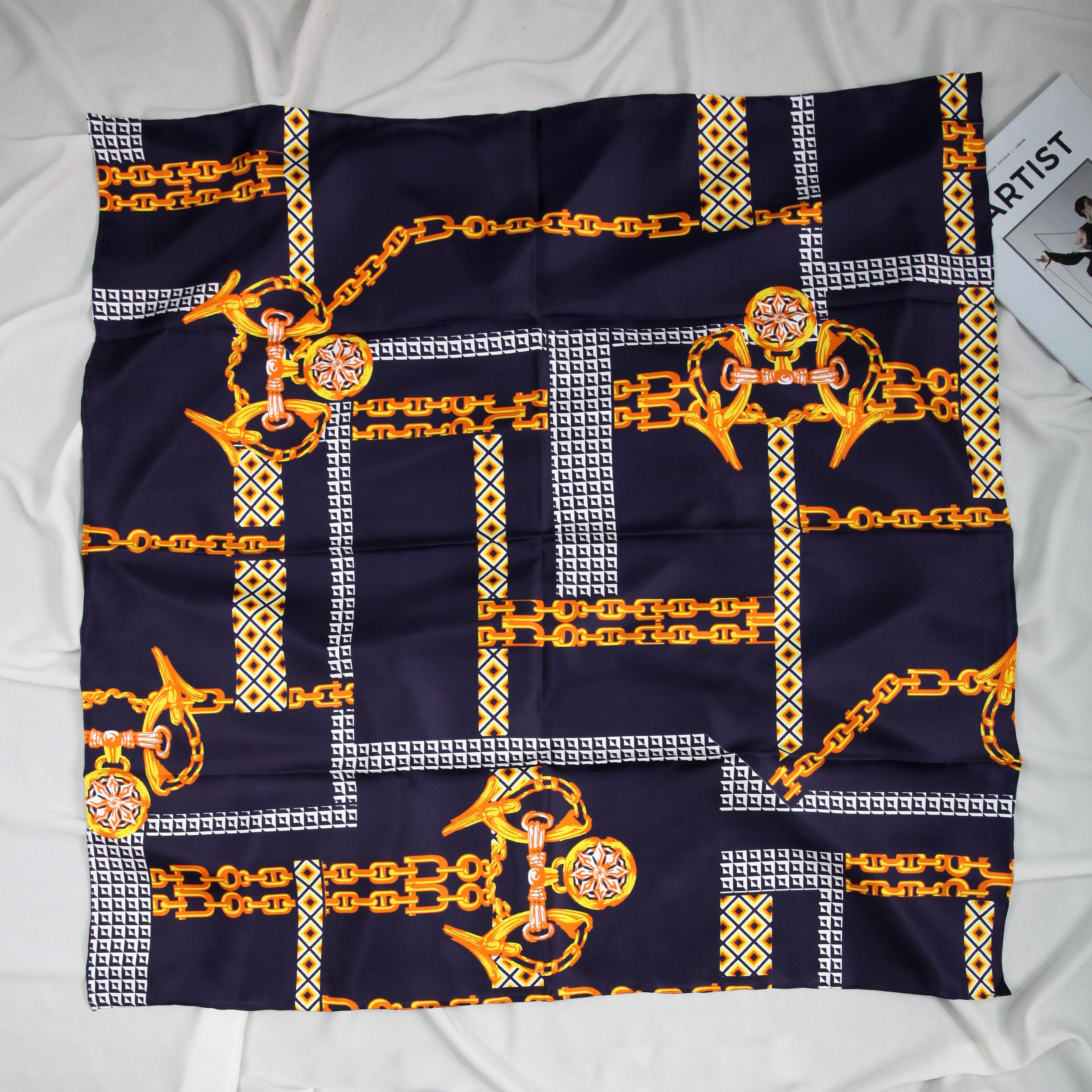 ELEGANT HANDMADE BRAND 100% 14mmTwill Silk Scarf TWIC-200146A