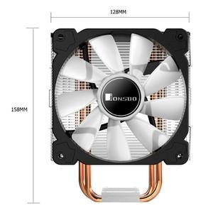 Image 5 - Jonsbo CR1000GT 4 Ống Nhiệt Argb Tháp Để Bàn Quạt Tản Nhiệt CPU Cho Intel/AMD Làm Mát Máy Tính Các Thành Phần Hệ Thống